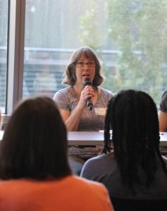 Screening and treating in teh community context panelist, Kathleen Lange