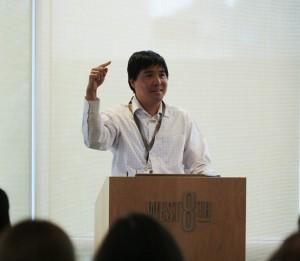 Social Media in Health Interventions panelist, Jason Mendoza