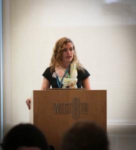 Social Media in Health Interventions panelist, Erin Schoenfelder